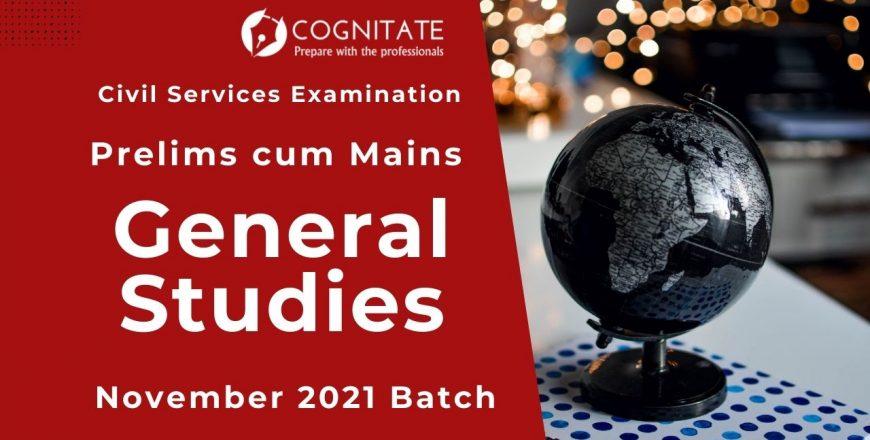 General Studies Nov 2021