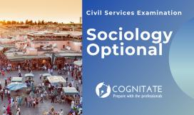 Sociology Optional Cognitate